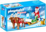 Playmobil Sania lui Moş Crăciun cu reni (9496)