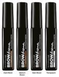 Maybelline Brow Drama Mascara 7, 6 ml, Mascara szemöldök: medium brown