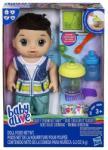 Hasbro Baby Alive cu părul brun cu mixer (E0636) Papusa