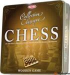 TACTIC Klasszikus fa sakk fém dobozban