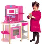 Woodyland Bucătărie jucărie din lemn cu accesorii 91311 Bucatarie copii
