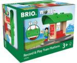 BRIO - Играчка Гара Record&Play Train Platform 33840