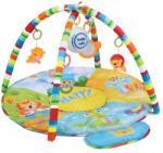 Baby Mix Happy játszószőnyeg játékmodullal - szafari