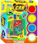 Kid's Toys Színes benzinkútépítő gyurmakészlet - 24 db-os