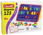 Quercetti Mágneses Játék Tábla Színes Számokkal 48 db-os