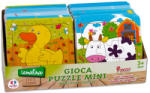 Globo Legnoland - Fa puzzle 9 db-os - többféle (GL36479)