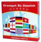KVÍZ Játékkártya Országok és zászlóik (Európa) (2250)