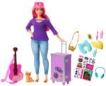 Mattel Barbie - Dreamhouse Adventures - Daisy baba utazó kiegészítőkkel