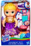 Hasbro Baby Alive - Szőke hajú szülinapos baba (E0596)