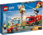 LEGO City - Tűzoltás a hamburgeresnél (60214)