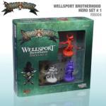 CMON Rum & Bones: Wellsport Brotherhood Hero Set 1 társasjáték kiegészítő