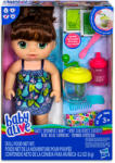 Hasbro Baby Alive sötét hajú kislány mixerrel (E0587)