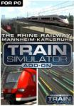 Dovetail Games Train Simulator The Rhine Railway Mannheim-Karlsruhe Route Add-On DLC (PC) Software - jocuri