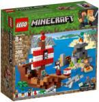 LEGO Minecraft - A kalózhajós kaland (21152)