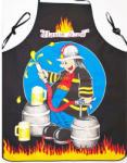 FORBYT Șorț de bucătărie - pompier negru