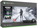 Microsoft Xbox One X 1TB + Metro Exodus + Metro Last Light Redux + Metro 2033 Redux Játékkonzol