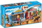 Playmobil Western - Hordozható western város (70012)