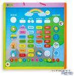 ANDREU Toys Mágneses naptár - angol nyelvű