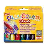 Playcolor Tempera Solida 6 Culori, Instant - Playcolor One ( Ins10711)