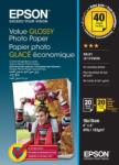 Epson 10x15 Gazdaságos Fényes Papír 20 Lapos 183g (C13S400037) - tutitinta