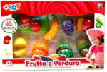 Globo Set cu 8 fructe si legume (GL36900) Bucatarie copii