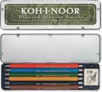 KOH-I-NOOR Set 6 creioane mecanice 2 mm VERSATIL KOH-I-NOOR