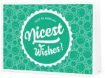 """Piccantino Nicest Wishes! - Önállóan kinyomtatható ajándékutalvány - """"Nice Wishes"""" utalvány"""