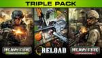 Mastiff Triple Pack: Heavy Fire Shattered Spear + Reload + Heavy Fire Afganistan (PC) Software - jocuri