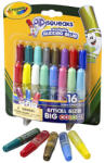 Crayola Crayola: Mini-lipici cu sclipici - lavabil, 16 buc. (69 4200)