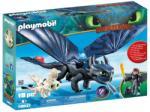 Playmobil Hablaty és Fogatlan baba sárkánnyal (70037)