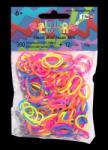 Rainbow Loom Neon gumi mix 300 db-os (21089)