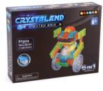 CRYSTALAND Robot, Masini, Aeronave 6in1 - 91 piese (99005) Puzzle