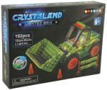 CRYSTALAND Buldozer - 192 piese (990029) Puzzle