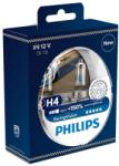 Philips Set becuri H4 Philips Racing Vision 150% 12342RVS2