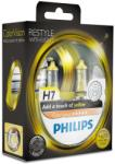 Philips Set becuri H4 Philips Color Vision Yellow 12342CVPYS2