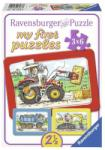 Ravensburger Utilaje - 3x6 piese (06573) Puzzle