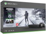 Microsoft Xbox One X 1TB + Metro Exodus + Metro Last Light Redux + Metro 2033 Redux Конзоли за игри