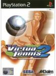 SEGA Virtua Tennis 2 - Sega Professional Tennis (PS2) J�t�kprogram