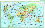 DJECO Animalele lumii (07420) Puzzle