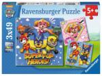 Ravensburger Paw Patrol - 3x49 piese (08036) Puzzle