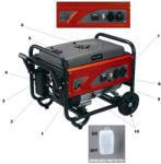 Einhell RT-PG 3250 Generator