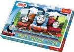 Trefl Thomas - Locomotive fericite 24 piese (14231) Puzzle