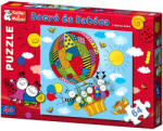 Keller&Mayer Bogyó şi Babóca - Balonul cu aer cald - 64 piese (713168) Puzzle