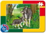 D-Toys Animale - 12 piese (60181) Puzzle