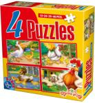 D-Toys Animale 4in1 (64585) Puzzle