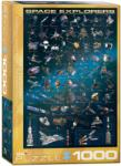 EUROGRAPHICS Space Explorers 1000 piese (6000-2001) Puzzle