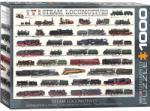 EUROGRAPHICS Steam Locomotives 1000 piese (6000-0090) Puzzle