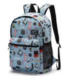 4c68ea174d3d PUMA Academy 19 világoskék, puma logó mintás laptoptartós hátizsák  P075733-05