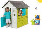 Smoby Set căsuţă Pretty Blue Smoby și set de găleată Nemo de la 24 de luni (SM810710-2) Casuta pentru copii