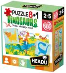 Headu Dinozauri 8+1 (22243) Puzzle